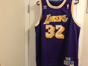 5416796ab7e Magic Johnson adidas hardwood classics jersey . Size xl. 35