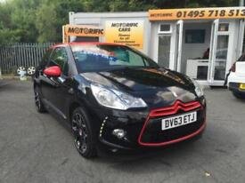 Citroen DS3 1.6e-HDi ( 90bhp ) Airdream DStyle Red