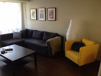 Large 1 Bedroom Sublet in Centretown