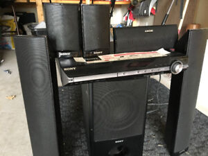 Sony 1000Watts 5.1 home theatre system.