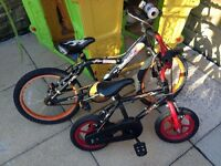 2 kids bikes for sale