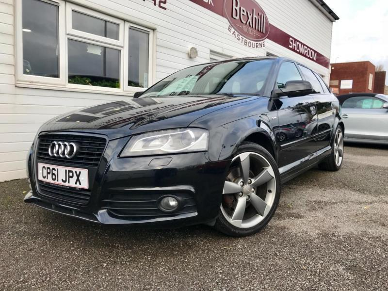 audi a3 tdi s line black edition 5dr diesel automatic 2011 61 in eastbourne east sussex gumtree. Black Bedroom Furniture Sets. Home Design Ideas