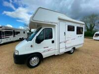 2005 ELDDIS AUTOQUEST 200 PEUGEOT 2.2 HDI MANUAL REAR LOUNGE MOTORHOME WITH ONLY
