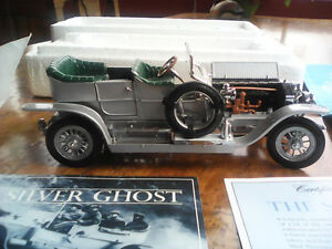 1907 Rolls-Royce Silver Ghost collector car by the Franklin Mint