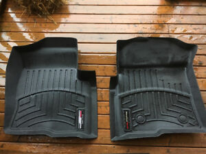 2 Front Weather Tech mats for 2009-2014 Ford F-150