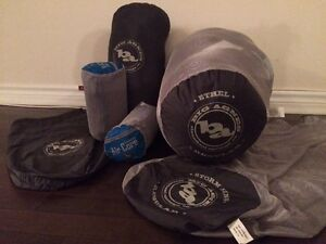 Big Agnes Sleeping bags and pads