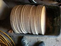 Pottery Wheel bats / batter boards