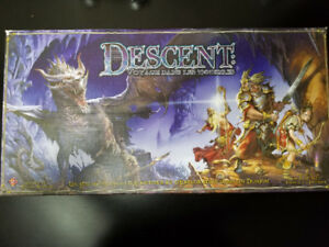 Descent 1st Edition (French) + Expansion