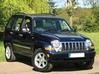2006/56 JEEP CHEROKEE 3.7 PETROL 4X4 AUTO LIMITED 69K MILES