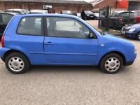 2002 VOLKSWAGEN LUPO S 1.4 Auto