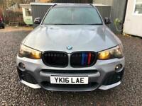 2016 BMW X3 2.0TD (190bhp) xDrive20d M Sport Station Wagon 5d 1995cc Sport Auto