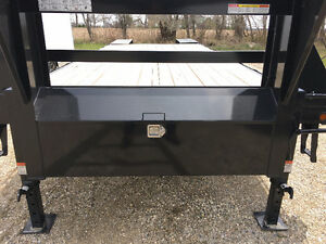 102x20 Plus 5 ft Beavertail Sure Trac Gooseneck Trailer Kitchener / Waterloo Kitchener Area image 6