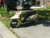 REDUCED ,,Yamaha Riva 180 cc AUTOMATIC 2 place Scooter