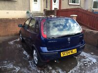 Vauxhall corsa - breaking for spares