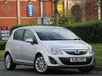 HEATED STEERING WHEEL + SEATS Vauxhall Corsa 1.2i 16v 85ps a/c 2011.5MY SE