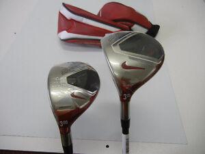 """Golf Ensemble Bois #3 et Hybride #3 NIKE VR-S Covert """"NEUF"""""""