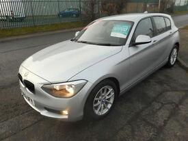 BMW 116 BUSINESS EDITION DIESEL MANUAL 5 DOOR SAT NAV LEATHER