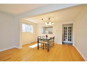 Great semi detached house for rent - Close to Carlton University
