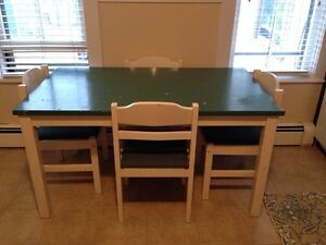 Solid Pine IKEA Table and Chairs