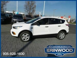 2017 Ford Escape SCPO 1.9%/12MO/20,000KM EXT WARR