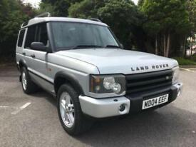 2004 LAND ROVER DISCOVERY 2.5 TD5 LANDMARK 7 SEATER 4X4 METALLIC SILVER