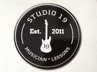 Learn guitar at Studio 19 in Thornton!