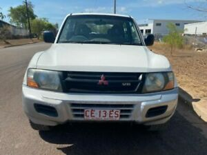 MISTUBISHI PAJERO MANUAL 4X4 V6 Winnellie Darwin City Preview