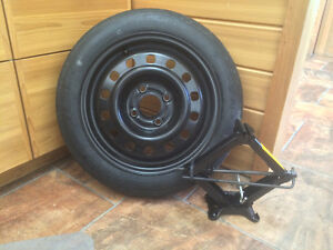 NEW 15'' Spare Tire with crowbar and jack