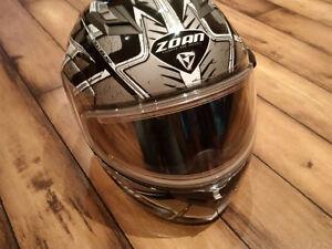 Zoan Helmet / Electric / sun visor / modular Size Large