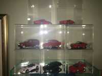 display protection plexi glass case diecast 1/24 die cast