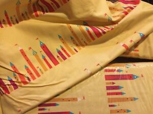 16+ yards of quilting cotton fabric, castle print $40