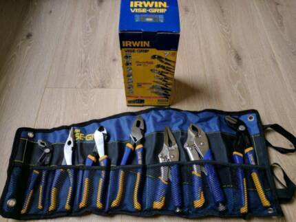 New - Genuine Irwin 7x Tool Set Groove Plier, Jaw Vice-Grip