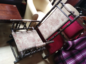 Lovely old rocking chair