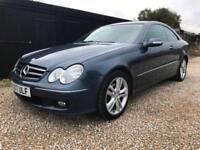 2007/07 Mercedes-Benz CLK220 CDI auto Avantgarde,98000 MILES,FULL SVS HISTORY