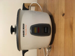 Rice cooker ( black and Decker)