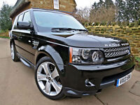 2013 RANGE ROVER SPORT 3.0 SDV6 BLACK EDITION. IVORY LEATHER !!