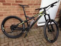 Enduro Mountain Bike High Spec