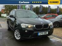 2015 BMW X3 xDrive20d SE 5dr SUV 5 Seats SUV Diesel Manual