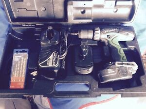 Cordless Hitachi Hammer Drill
