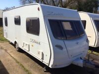6 berth caravan, comes with full awning, water and waste containers, gas bottle etc. Must be seen.
