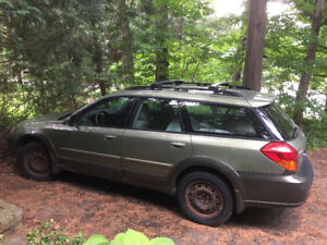 Subaru Outback 2006 - Includes New Set of Tires (Fuzion Touring)