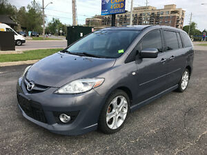 2009 Mazda5 GS Leather sunroof certified