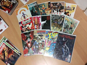 About 100 Comics: Various Marvel, DC and Image