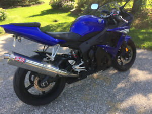 Yamaha R6 Low Mileage priced to sell