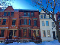 WESTMOUNT - VICTORIAN STYLE RENOVATED APT WITH PARKING