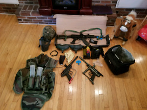 Paintball gear trade for ps4