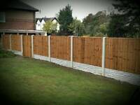 Fences. Supplied fitted
