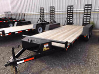 3.5 Ton and 5 Ton Low Bed Float Trailers