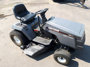 "42"" Craftsman riding lawnmower"