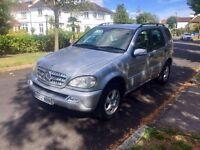 Mercedes ml 270 CDI facelift.